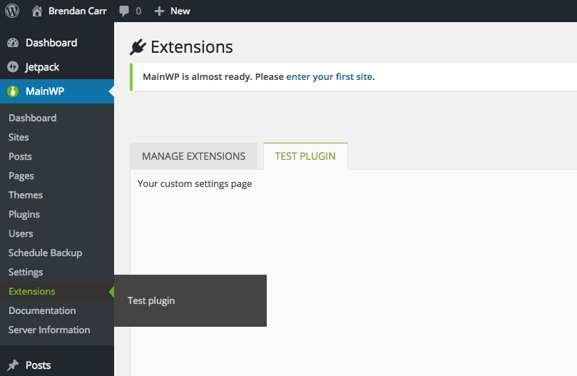 settingspage