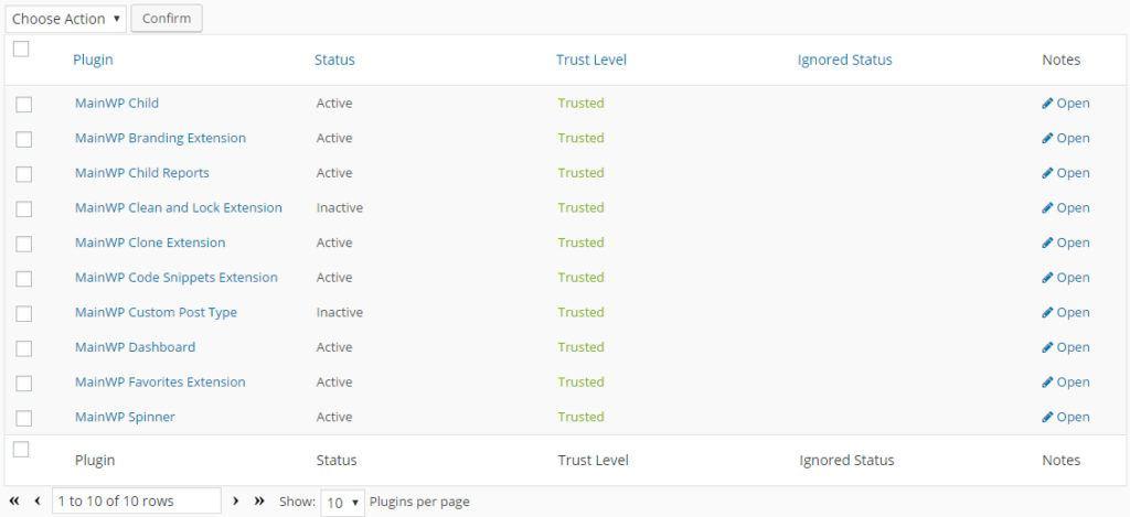 Trusted Plugins