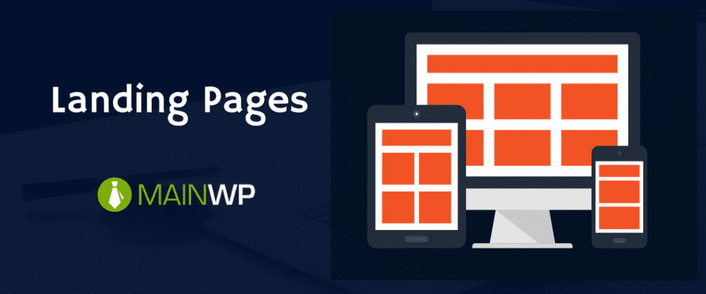 WordPress Site Care Landing Pages
