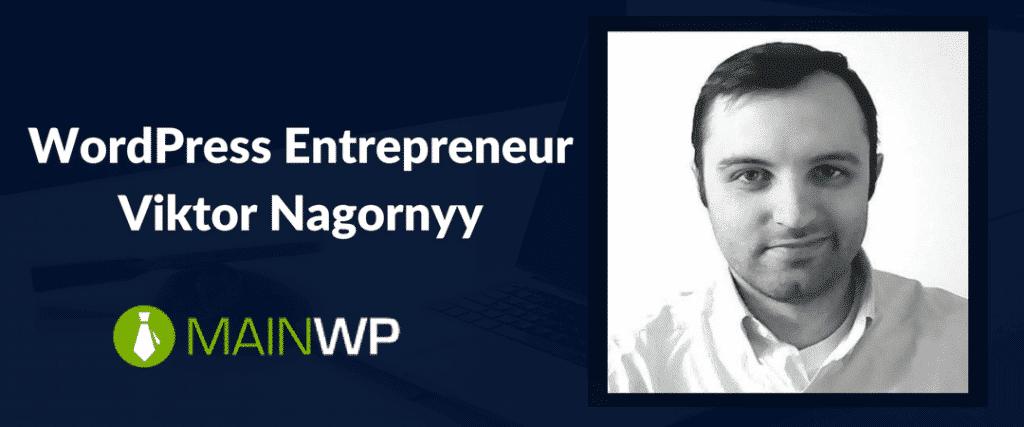 WordPress Entrepreneur Viktor Nagornyy