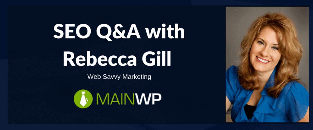 SEO Q&A with Rebecca Gill