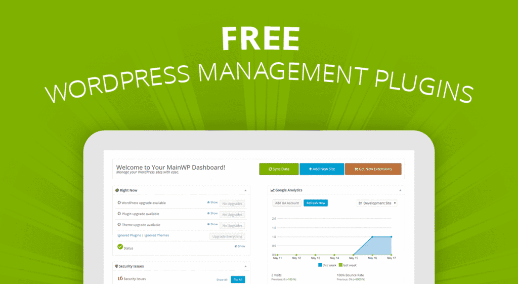 MainWP WordPress Management
