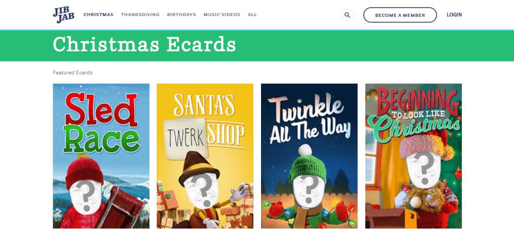 JibJab Ecards Funny Christmas Ecards and Videos - MainWP WordPress ...