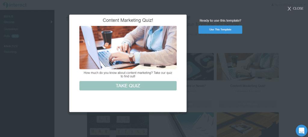 Content Marketing Quiz