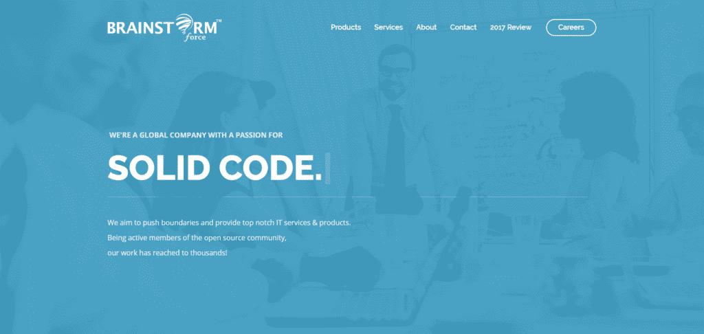Screenshot: brainstormforce.com