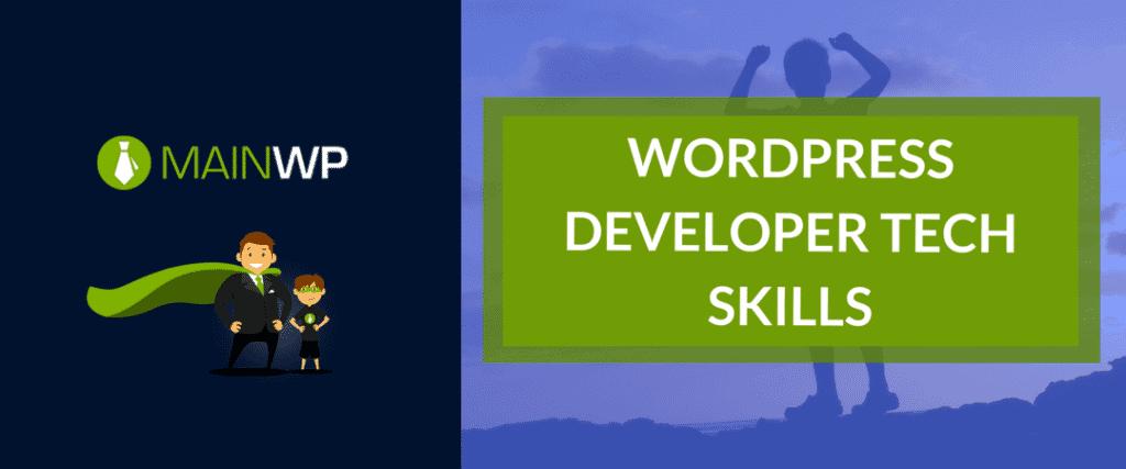 WordPress Developer tech skills