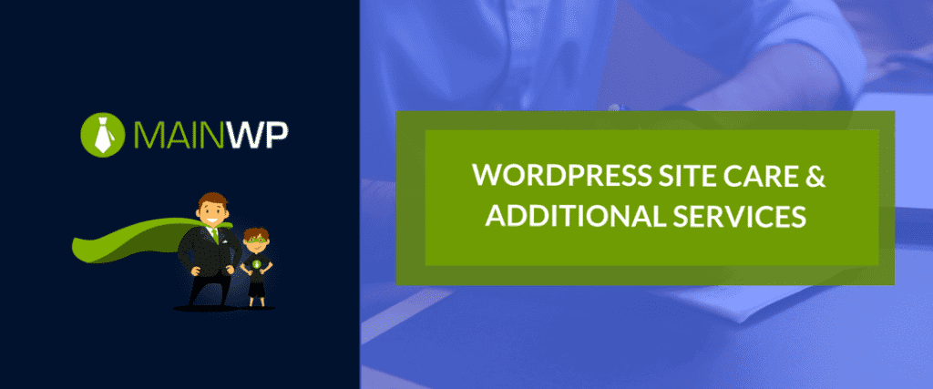 WORDPRESS SITE CARE & ADDITIONAL SERVICES