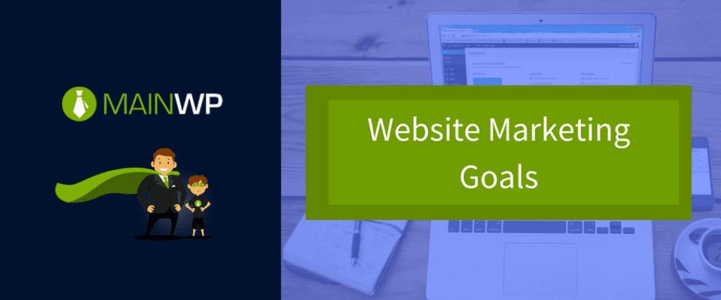 Website Marketing Goals