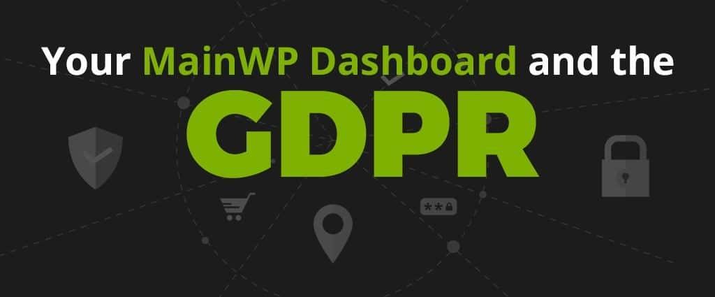 MainWP GDPR