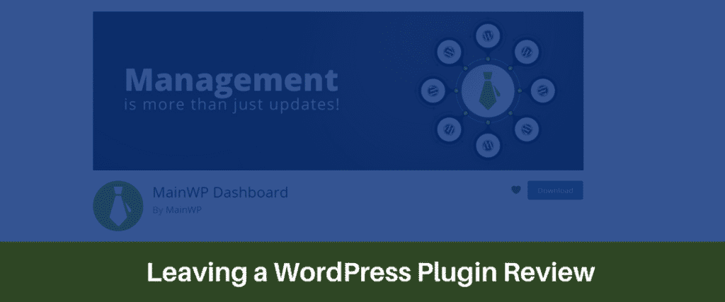 Leaving a WordPress Plugin Review