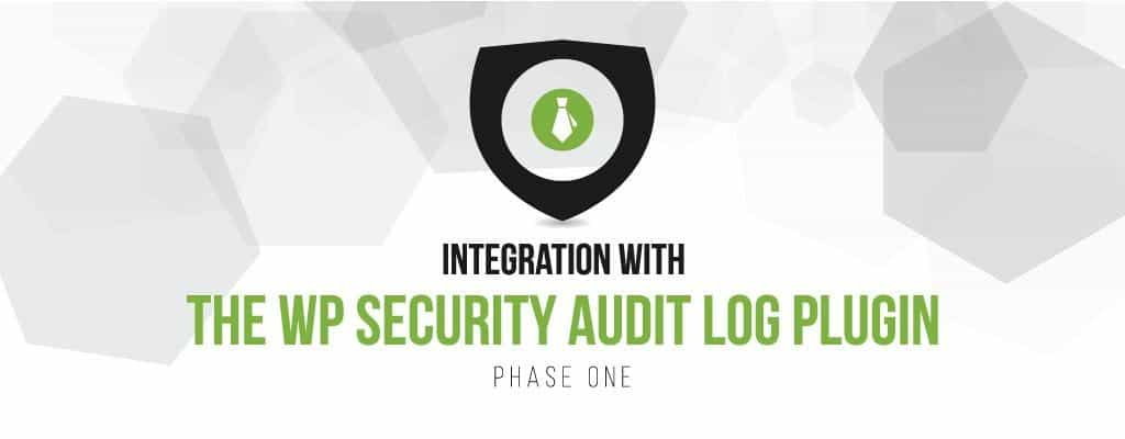 Integration with the WP Security Audit Log