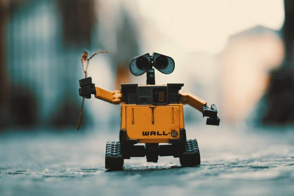 Don't be too robotic, unless you are like WALL-E