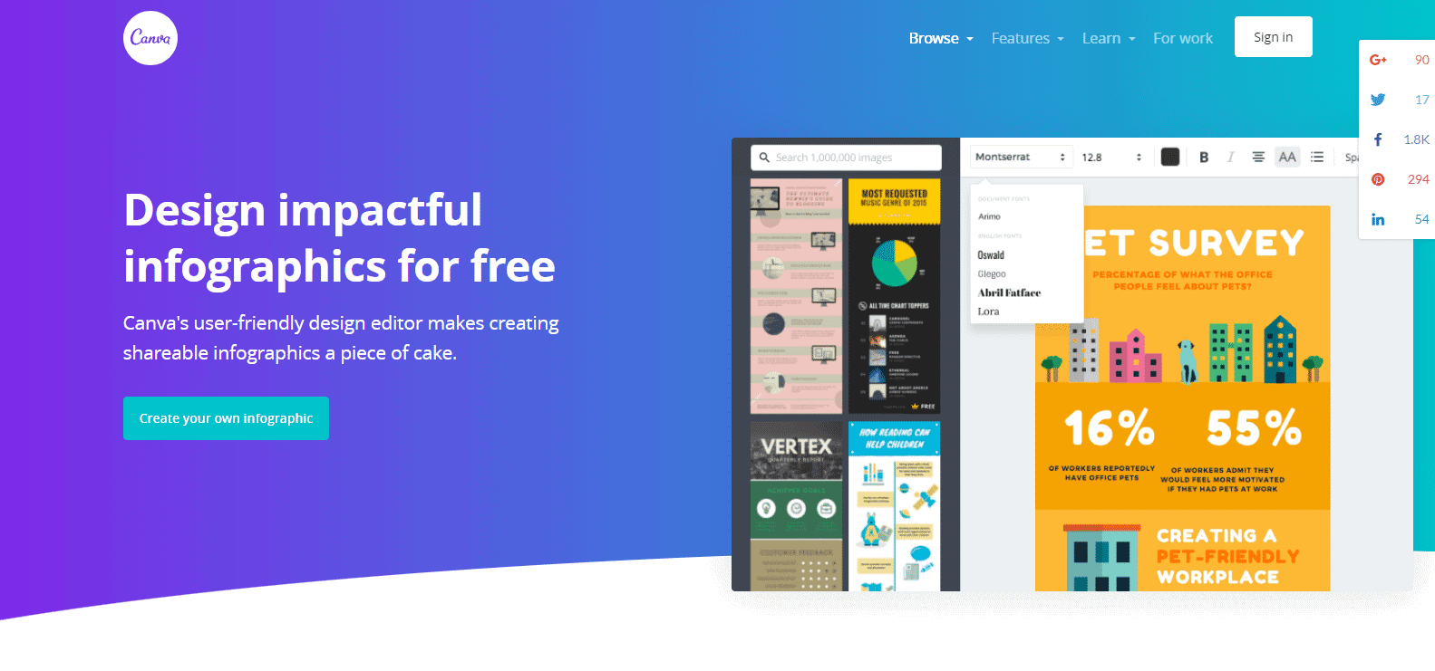 Free Online Infographic Maker Design Custom Infographics ...