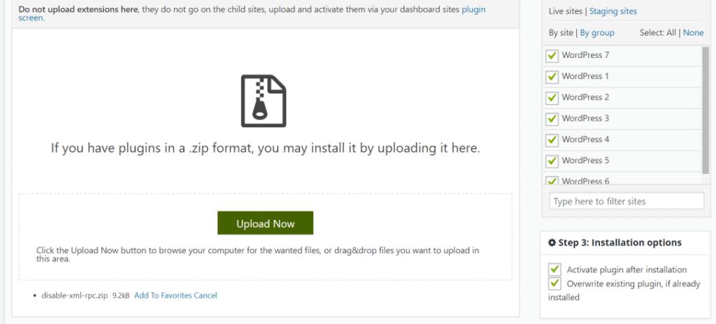 wordpress force download file