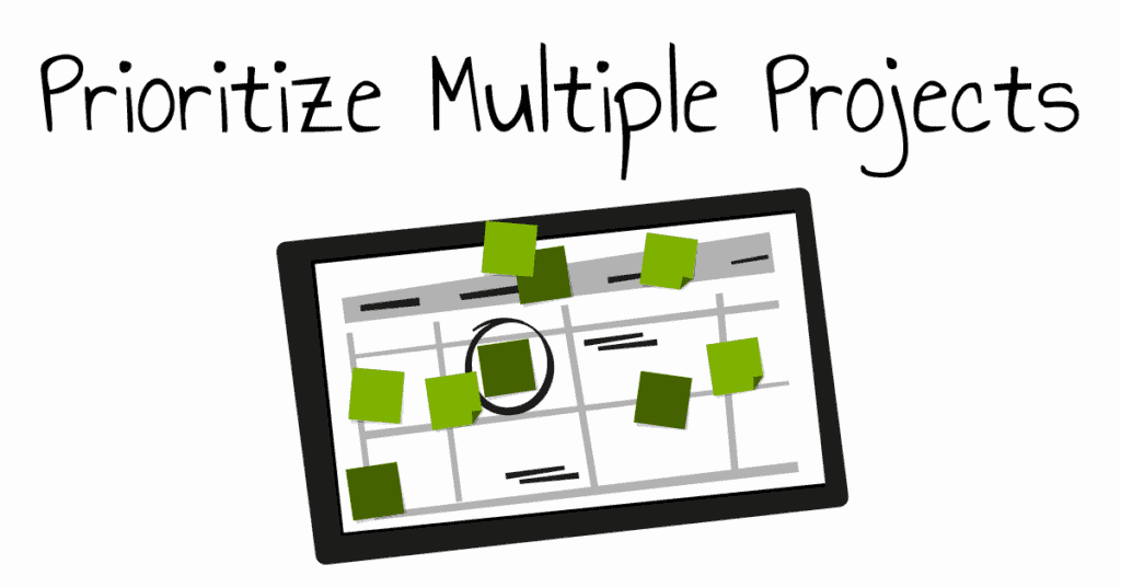 Prioritize Multiple Projects