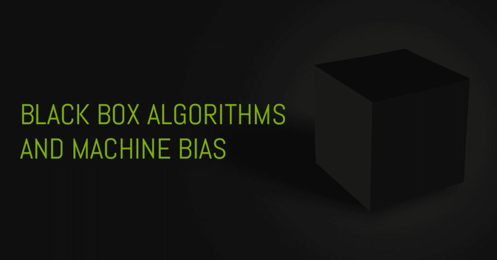 Black Box Algorithms and Machine Bias