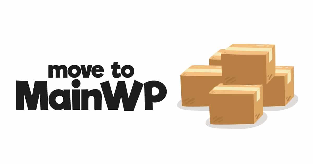 Move to MainWP