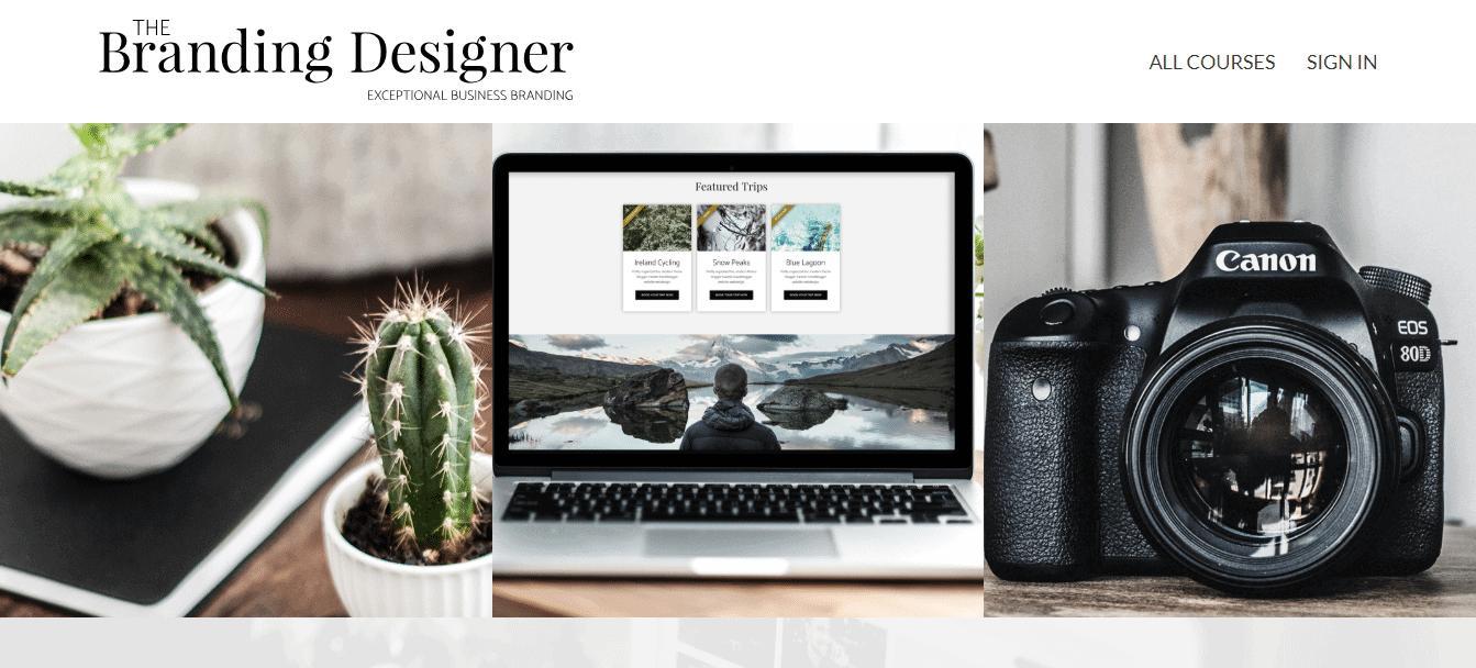 Screenshot: DesignClass