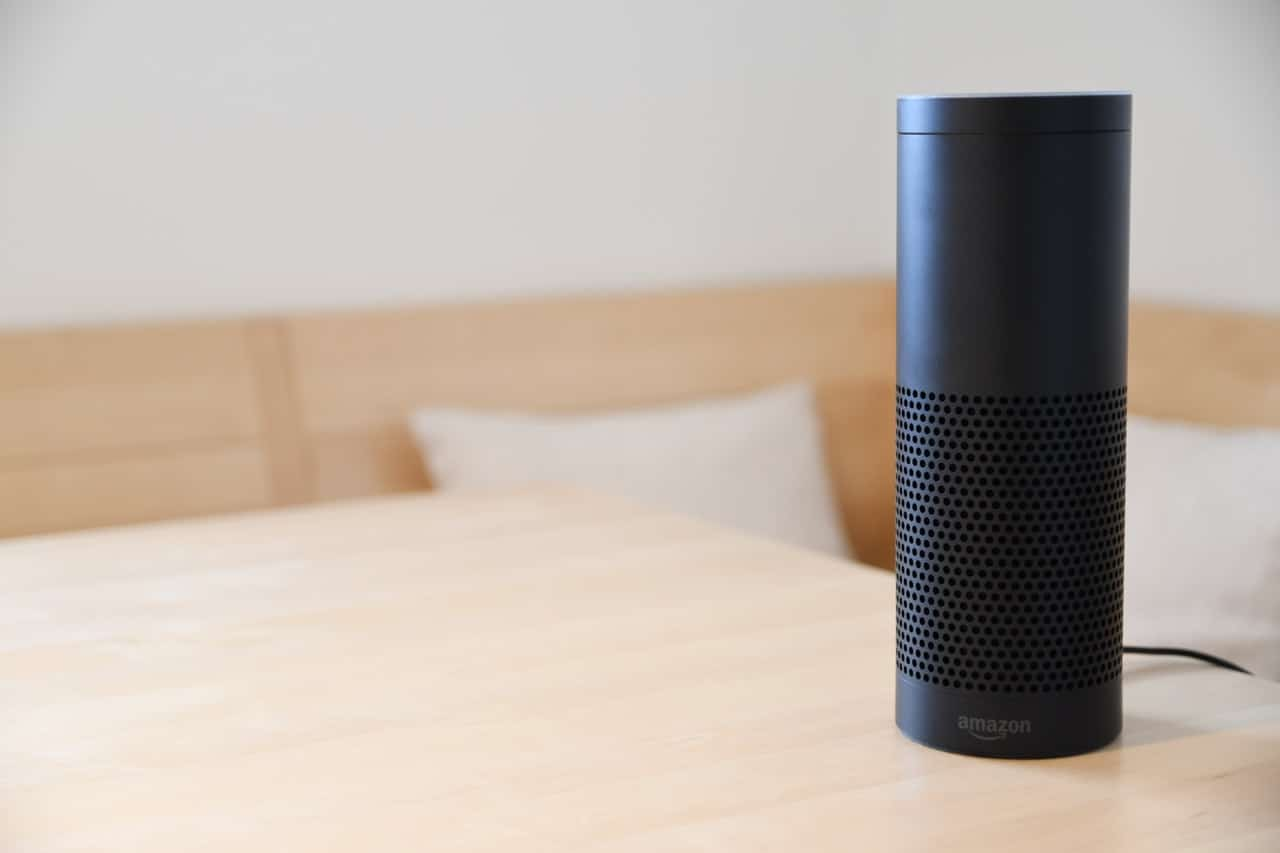 Black Amazon Echo On Table | Photo by Fabian Hurnaus from Pexels
