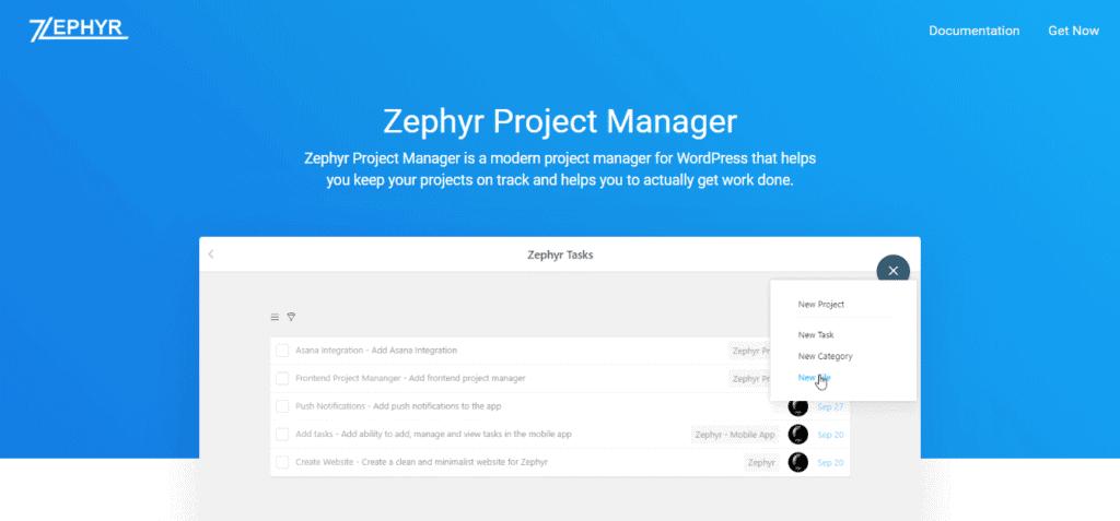 Screenshot: zephyr-one.com