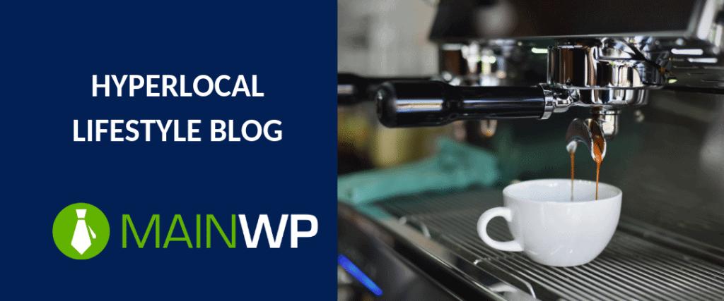 Hyperlocal lifestyle blog