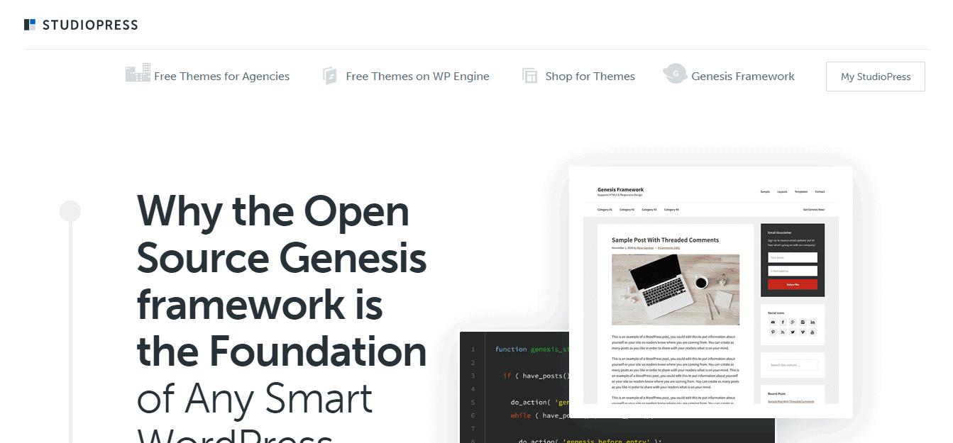 Screenshot: https://www.studiopress.com/features/