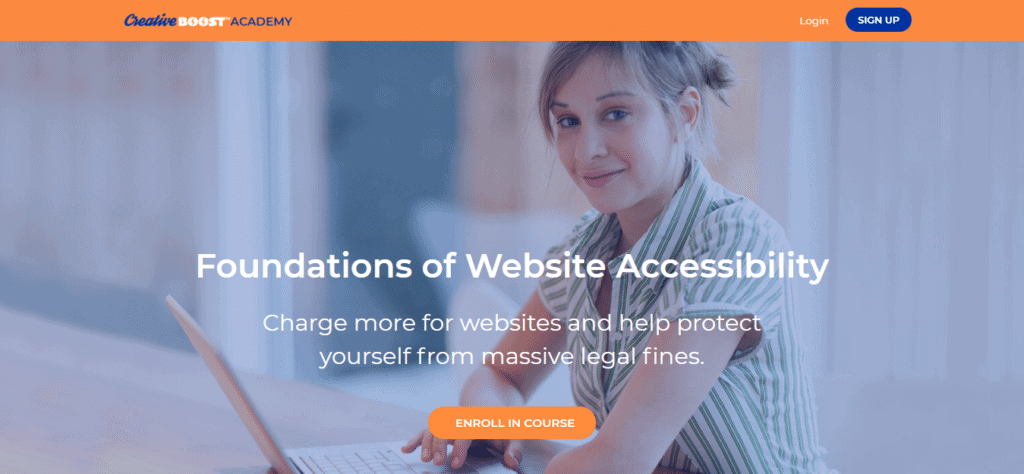 Featured Image: Screenshot: Foundations of Website Accessibility