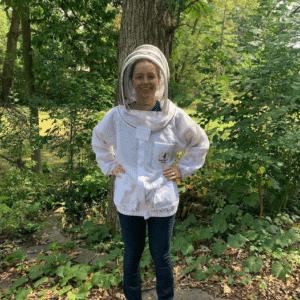 Donata the beekeeper
