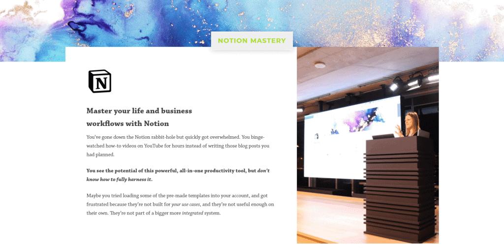 Notion Mastery