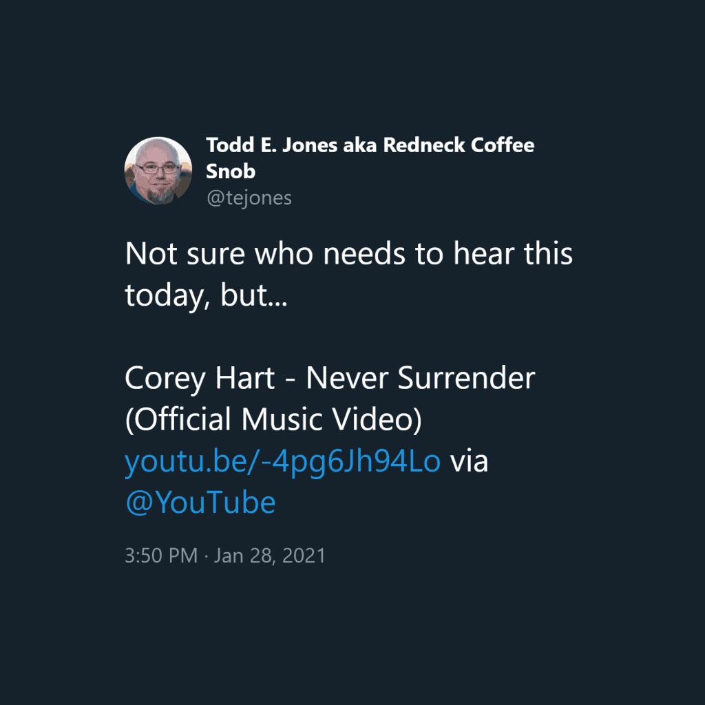 Tweet converted