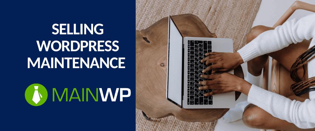selling wordpress maintenance