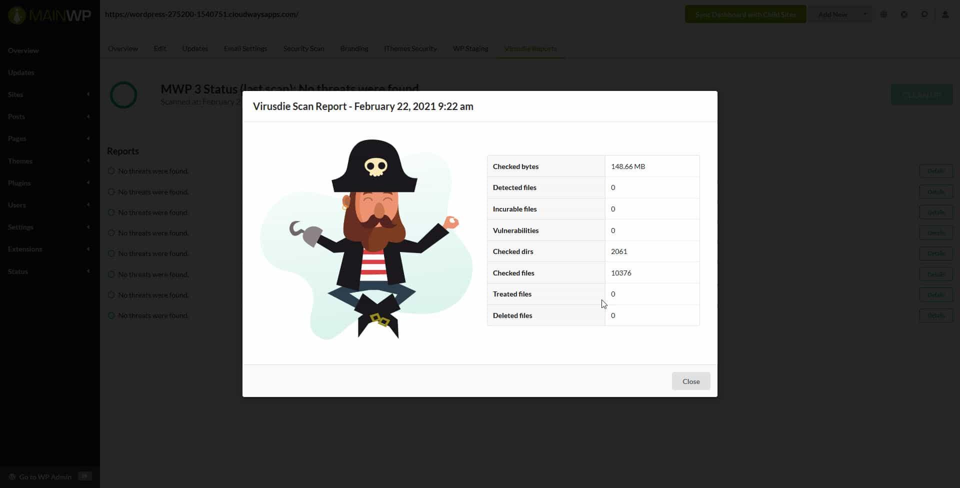 Virusdie report